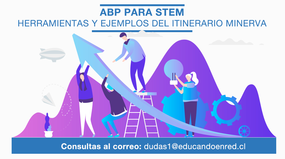 ABP para STEM. Herramientas y ejemplos del  Itinerario Minerva